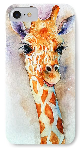 Standing Tall_giraffe IPhone Case