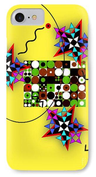 Star Circle Triangle Design IPhone Case