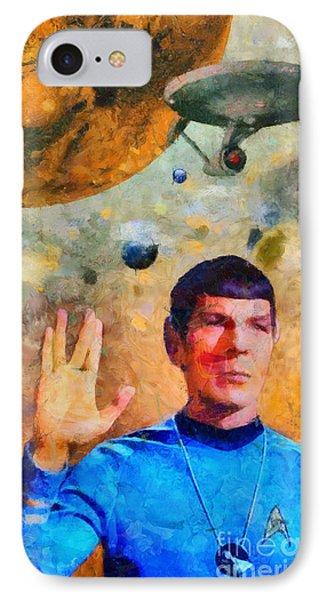 Star Trek-leonard Nimoy IPhone Case