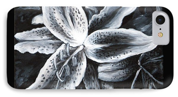 Stargazer Lilly IPhone Case