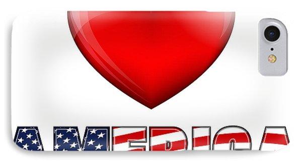 Love America IPhone Case