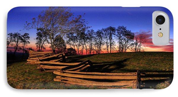 Stars At Sunrise On The Blue Ridge IPhone Case