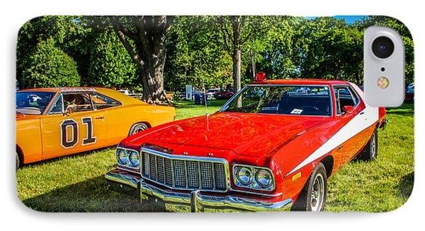 Starsky And Hutch Ford Gran Torino IPhone Case