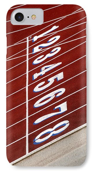 Track Starting Line IPhone Case