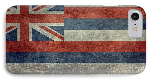State Flag Of Hawaii Vintage Version IPhone Case