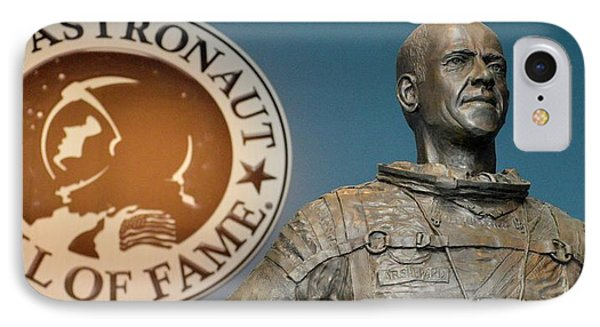 Statue Of Us Astronaut Alan Shepard IPhone Case