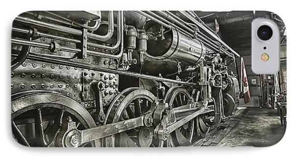 Steam Locomotive 2141 IPhone Case