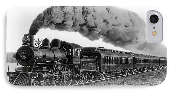 Steam Locomotive No. 999 - C. 1893 IPhone Case
