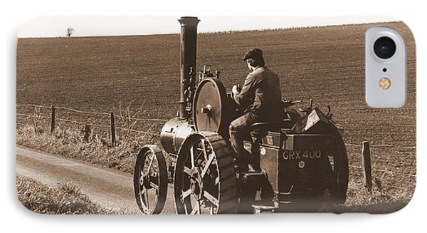 Steam Tractor IPhone Case