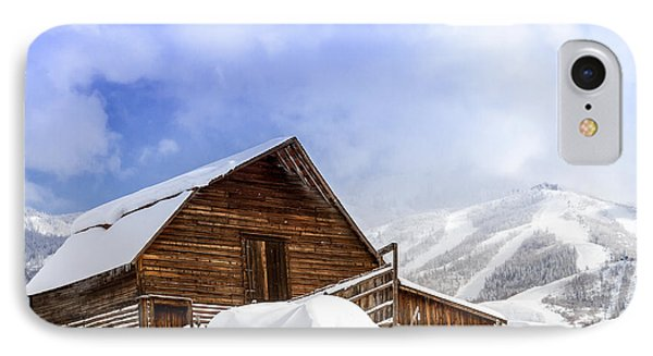 Steamboat Springs Barn And Ski Area IPhone Case