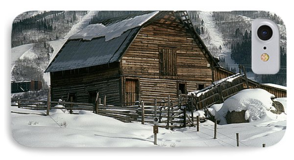 Steamboat Springs Barn IPhone Case