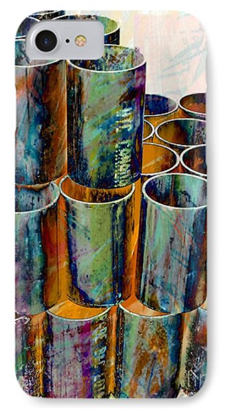 Steel Pipes IPhone Case