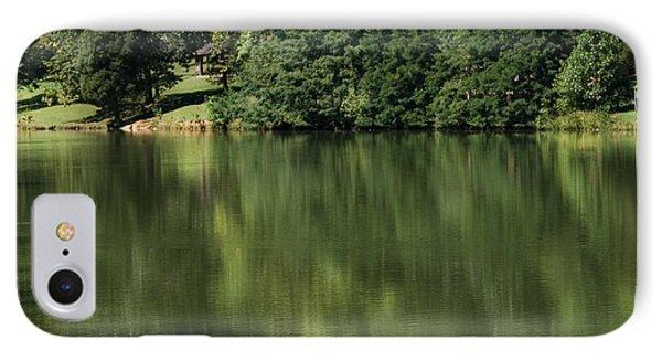 Steele Creek Park Reflections IPhone Case