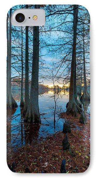 Steinhagen Reservoir Vertical IPhone Case