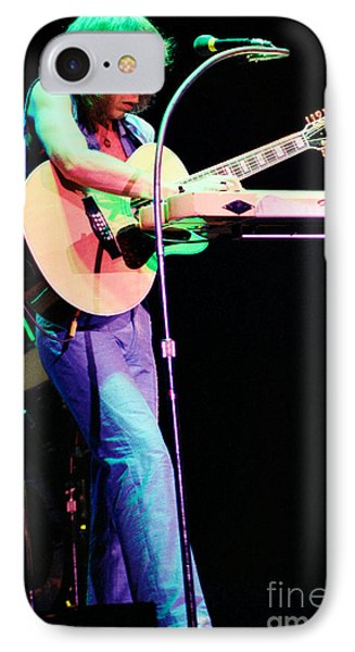 Steve Howe Of Yes 1980 Drama Tour IPhone Case