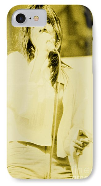 Steve Perry Of Journey At Day On The Green - July 27th 1980 IPhone Case