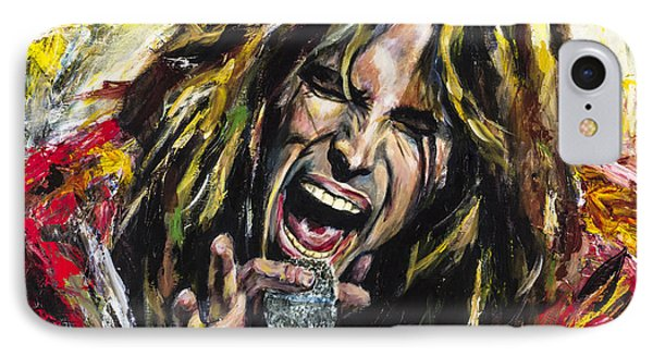 Musicians iPhone 8 Case - Steven Tyler by Mark Courage