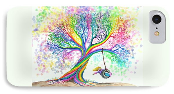 Still More Rainbow Tree Dreams IPhone Case
