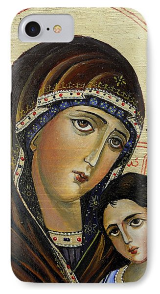 St.mary With  Jessus  IPhone Case