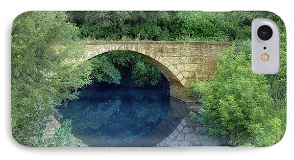 Stone Arch Bridge In Butler County IPhone Case