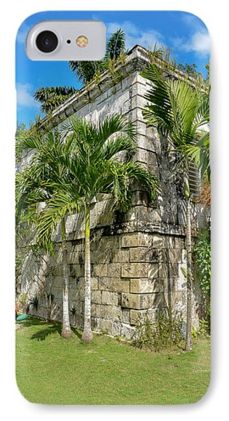 Stone Building Good Hope Estate Jamaica IPhone Case