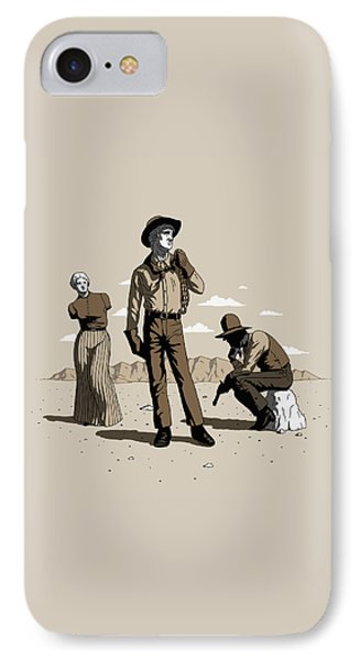 Stone-cold Western IPhone Case