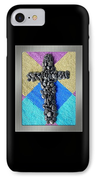 Stone Cross IPhone Case