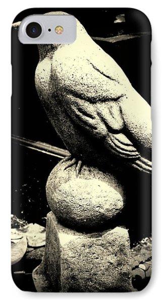 Stone Crow On Stone Ball IPhone Case
