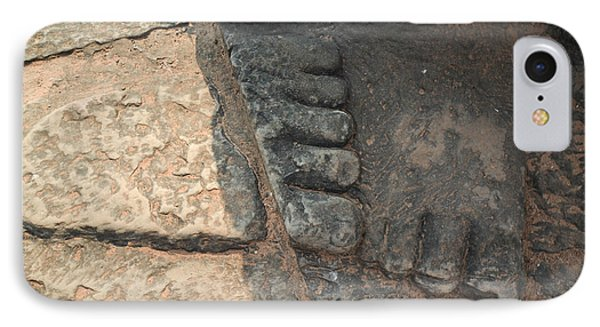 Stone Feet Cambodia IPhone Case
