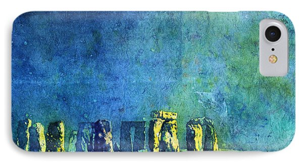 Stonehenge In Moonlight IPhone Case