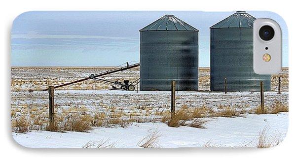 Storage Bins On The Prairie IPhone Case