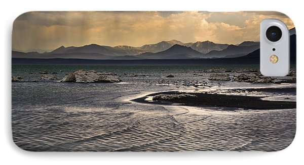 Storm At Mono Lake IPhone Case