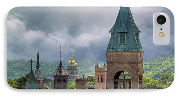 Storm Clouds In Charleston Wv IPhone Case