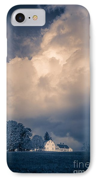 Storm Coming To The Old Farm IPhone Case