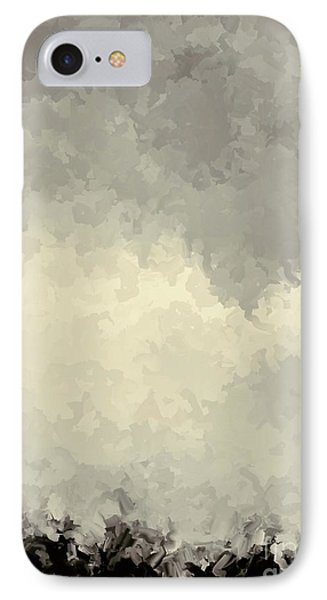 Storm Over A Cornfield IPhone Case