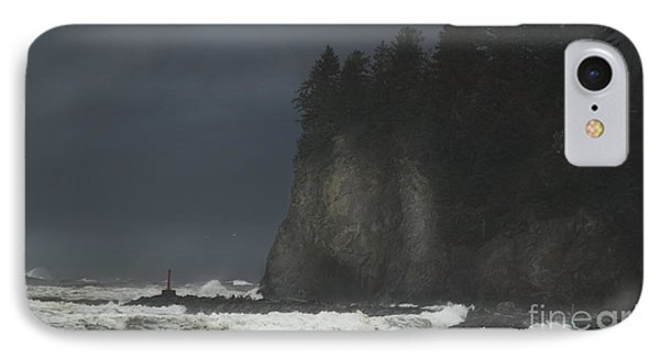 Storm At Lapush Washington State IPhone Case