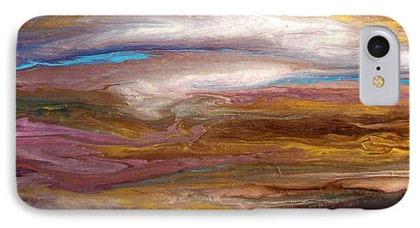 Storms At Sunset / Original Skyscape Painting IPhone Case