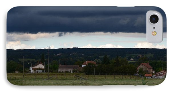 Stormy Countryside IPhone Case