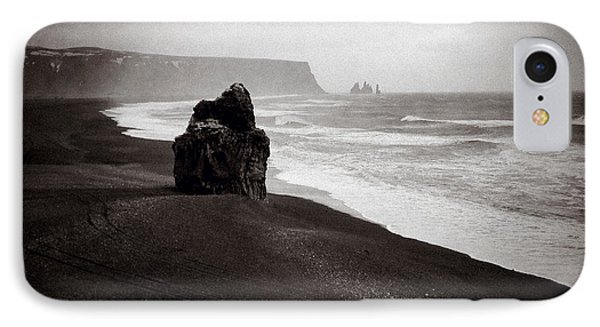 Stormy Day At Dyrholaey IPhone Case
