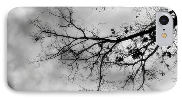 Stormy Morning In Black And White IPhone Case