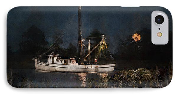 Stormy Seas Moonrise Return IPhone Case