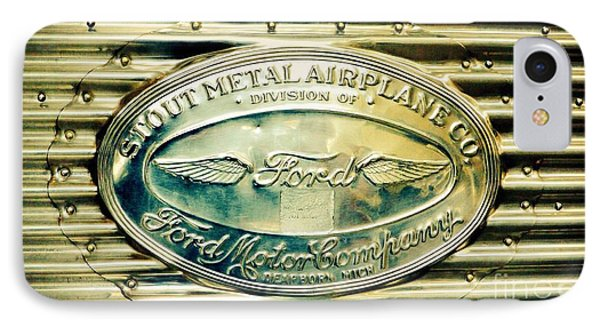 Stout Metal Airplane Co. Emblem IPhone Case