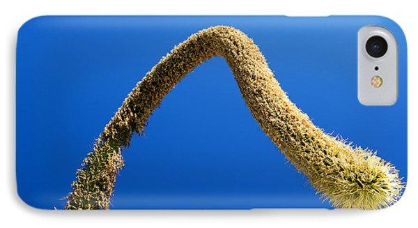 Strange Plant Under Blue Sky IPhone Case