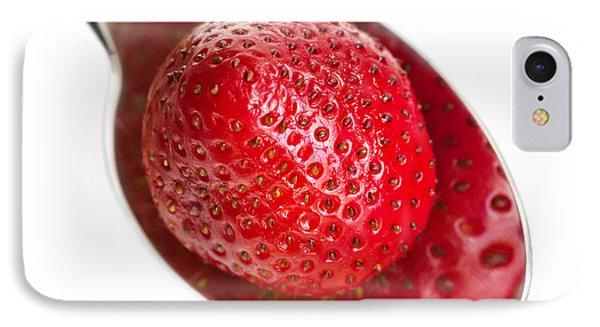 Strawberry Puddle IPhone Case