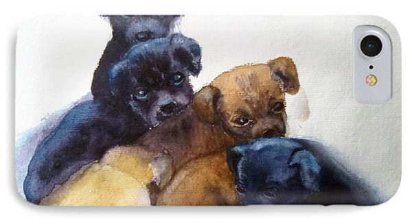 Stray Puppies IPhone Case