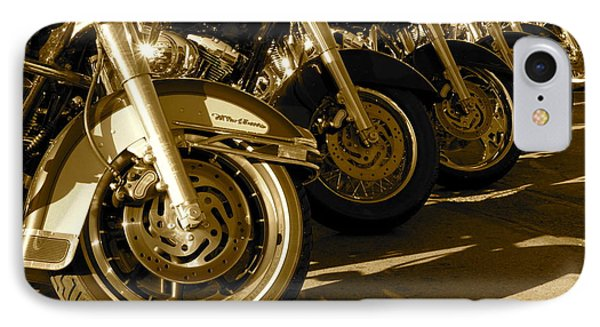 Street Vibrations Sepia IPhone Case