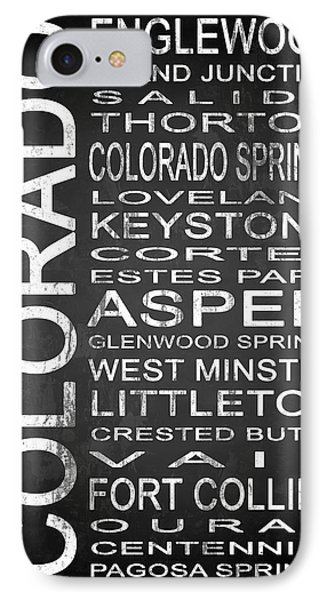 Subway Colorado State 2 IPhone Case