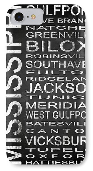 Subway Mississippi State 1 IPhone Case