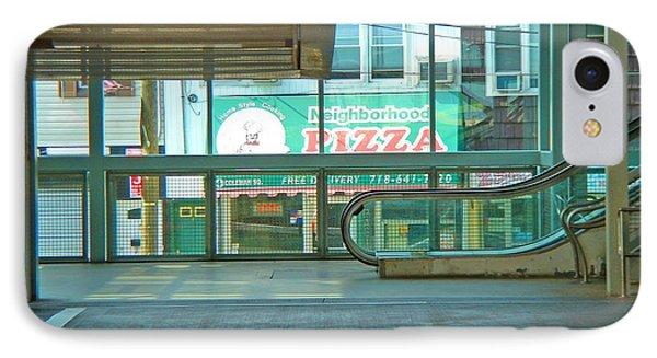 Subway Pizza IPhone Case