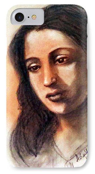 Suchitra Sen IPhone Case